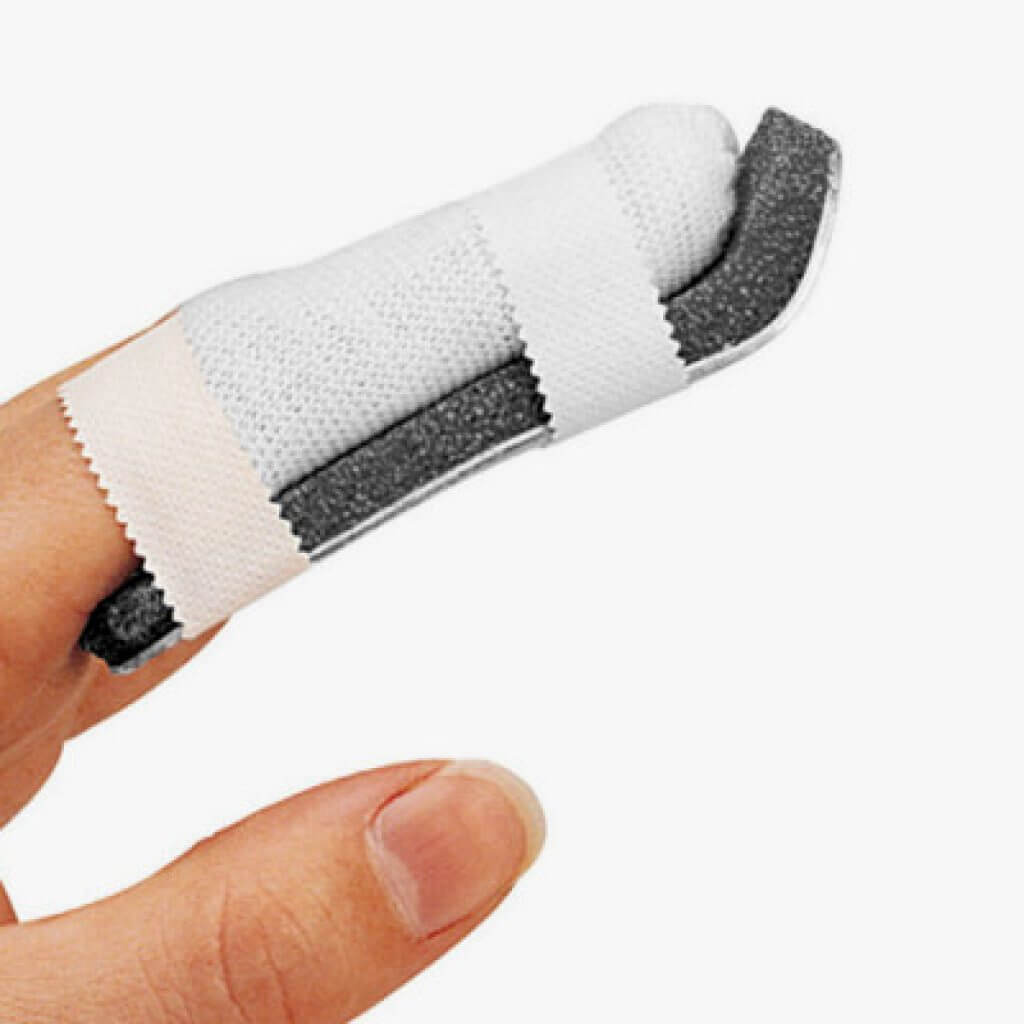 Tutore digitale per distorsione della articolazione Interfalangea prossimale